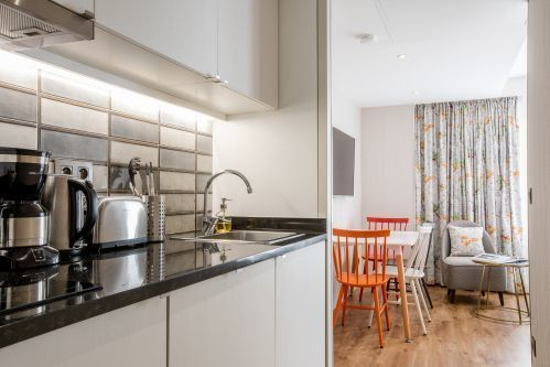 Kitchen Studio Apartment CADET Residence